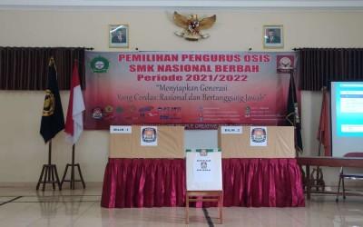 PEMILIHAN PENGURUS OSIS SMK NASIONAL BERBAH PERIODE 2021/2022