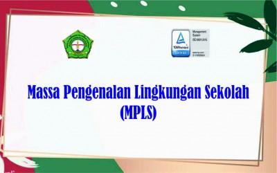 Informasi Massa Pengenalan Lingkungan Sekolah (MPLS) Th. 2021