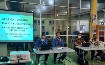 AUDIT EKSTERNAL SMM ISO 9001:2015 SMK NASIONAL BERBAH SLEMAN YOGYAKARTA